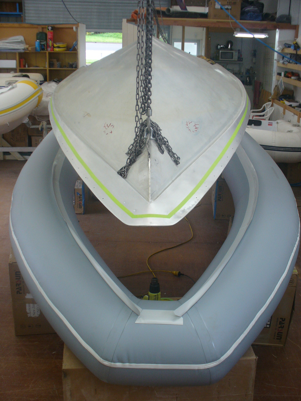 Services Include Retubing Inflatable Boats In Pvc And